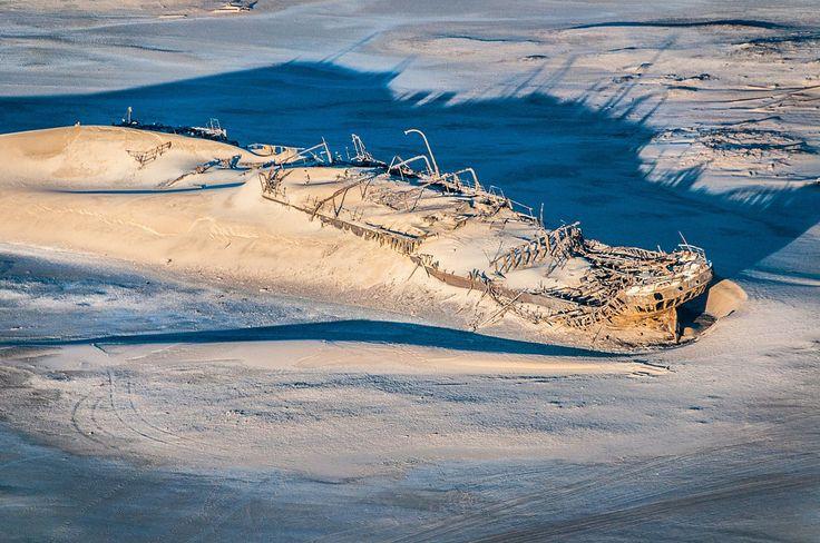 Wreck of the Eduard Bohlen on the Skeleton Coast, Namibia