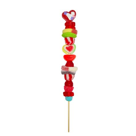 Brochette de gelées de St-Valentin - Coeur – Produits – Laura Secord