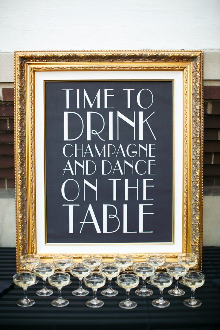 Best 25 art deco party ideas on pinterest for Art deco wedding decoration ideas