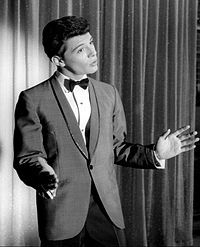 Frankie Avalon performing in 1960.