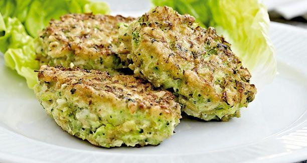 Opskrift: Blomkåls-broccolifrikadellerne er mættende og fyldt med smag - perfekte til en sund aftensmad