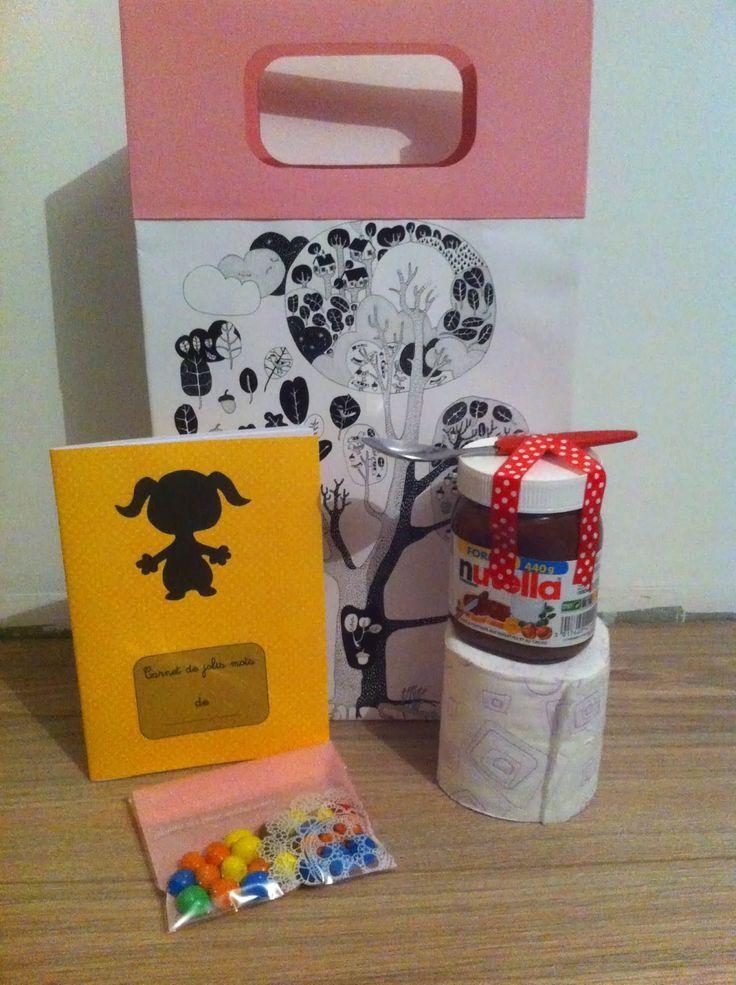 Unesimple photo sur Pinterest (quoid'autre!) m'a donné l'idée de faire un kit pour mes copines qui vont bientôt accoucher.          ...