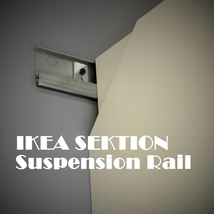 Ikea sektion suspension rail build it with stan pinterest first day ik - Ikea suspension papier ...