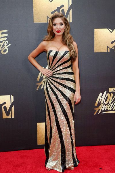 Farrah Abraham - Best Dressed at the 2016 MTV Movie Awards - Photos