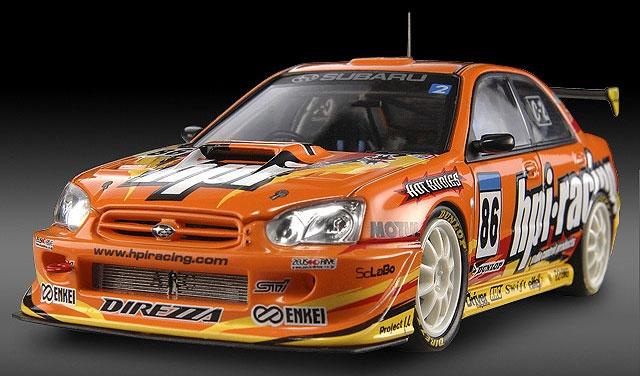 HPI Racing Impreza 2004 (#86) Scale Model by HPI-Racing