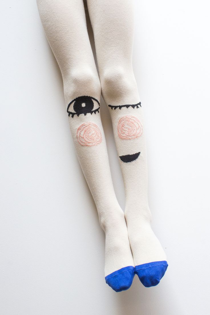 * Cheeky Grin tights by Braveling fun kids accessories label for fall 2015