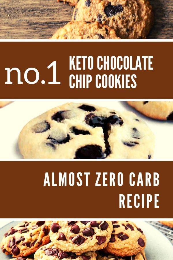 Keto chocolate chip cookies low carb recipe