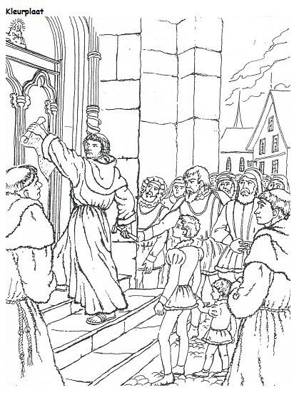 luther thesis 71 Illustrations of the 95 thesis of dr martin luther disputation of doctor martin luther on the power and  71 he who speaks.