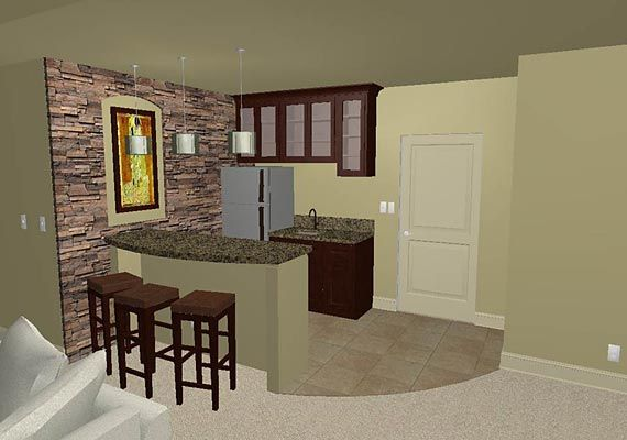 Basement Bar Plans And Layouts
