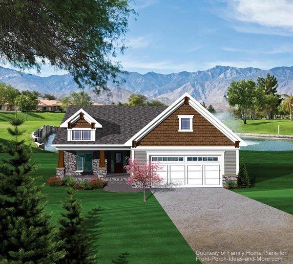 84 best House Plans With Porches images on Pinterest | Home plans ...