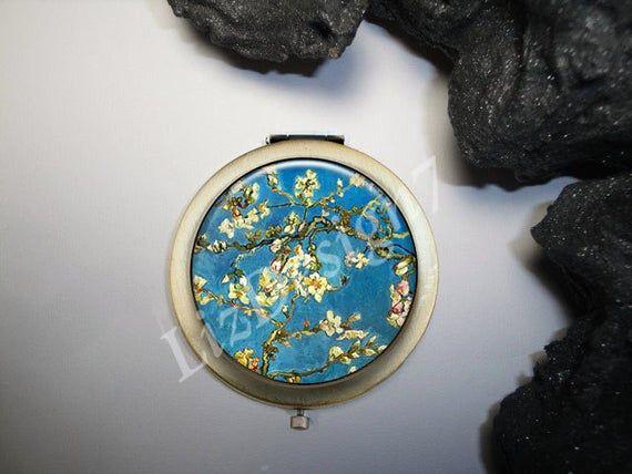 Van Gogh Art Compact Mirror, Art Doctor Gifts, Doctor Compact Mirror, Medical Gift, Compact Mirror,