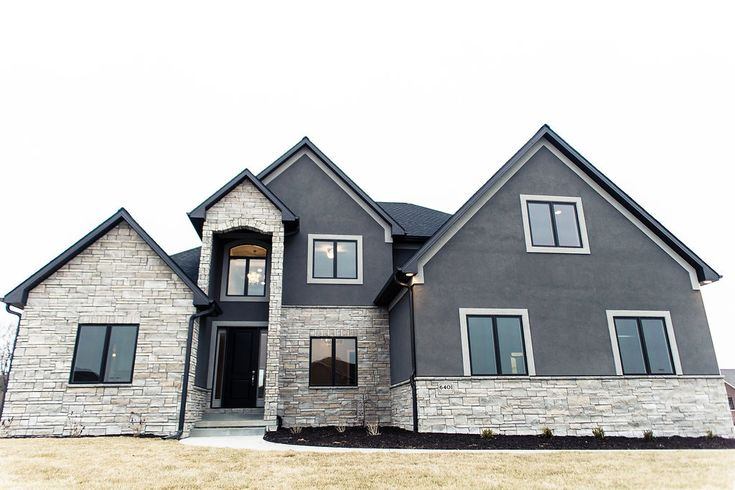 2014 custom home 1 1 2 story stone monticello limestone - Exterior house paint colors 2014 ...