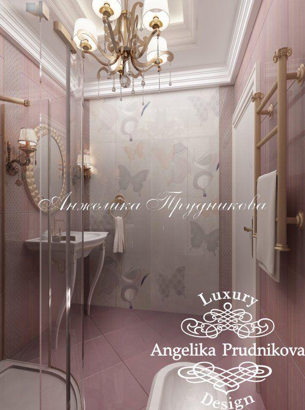 Дизайн проект интерьера квартиры в классическом стиле в ЖК Остров Фантазий