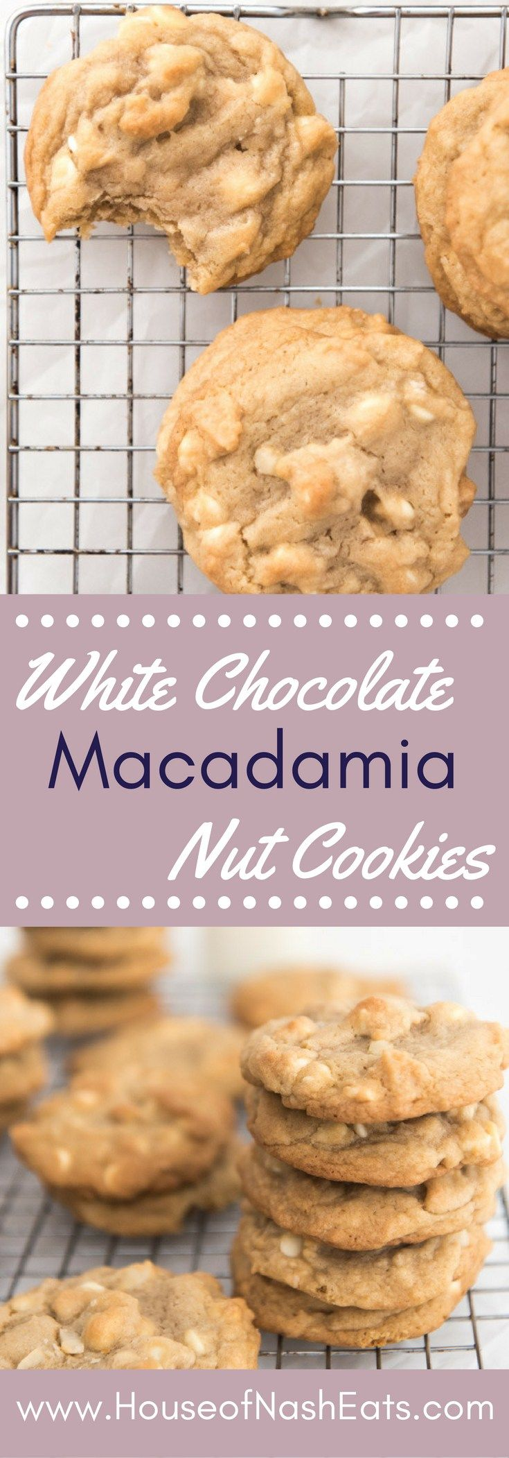 Buttery soft, chewy and studded with smooth, sweet white chocolate that shines…