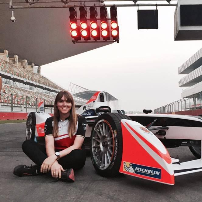 Our Woman of the Week is Naomi Panter, known by her teammates as 'Pants'. She started her motorsport career as one of the founding members of Current E. At the end of Formula E's first season, she was offered a role as PR and Communications Manager for Mahindra Racing.