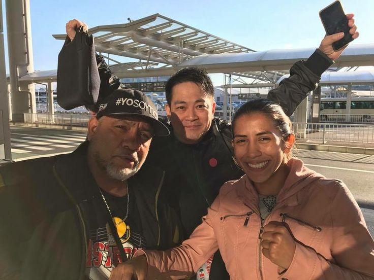 Yokasta Valle está en Japón en busca del título mundial de boxeo