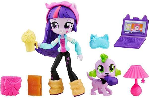 My Little Pony, Equestria Girls, Minis Character, Accessory , Twilight Sparkle Slumber Party