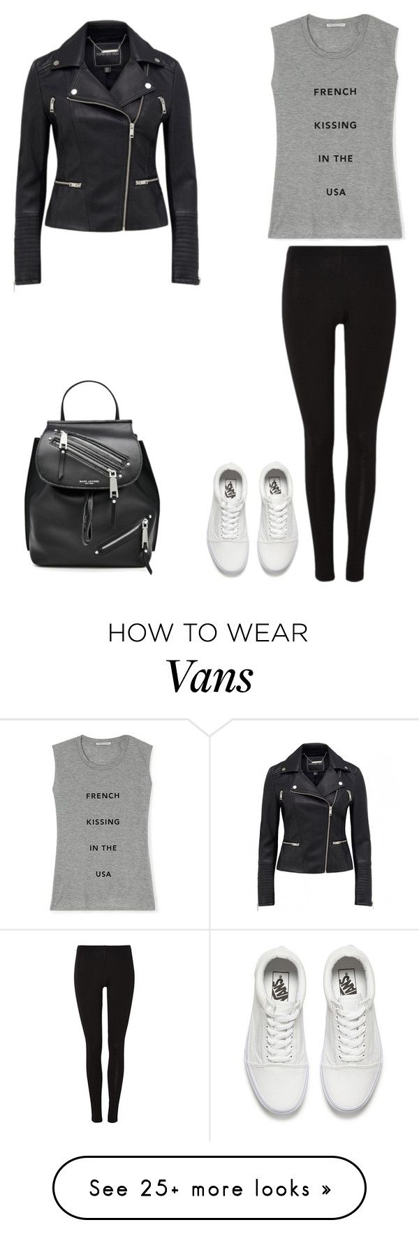 """Untitled #50"" by myamarie8 on Polyvore featuring Rebecca Minkoff, Vans and Marc Jacobs"