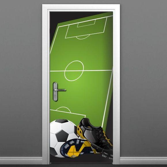 Adesivo para porta de futebol - 499 | ADESIVOS COMPRAR E COLAR | Elo7