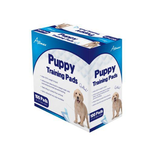 Allmax Puppy Training Pads, 22-Inch by 23-Inch, 100-Piece - http://www.thepuppy.org/allmax-puppy-training-pads-22-inch-by-23-inch-100-piece/