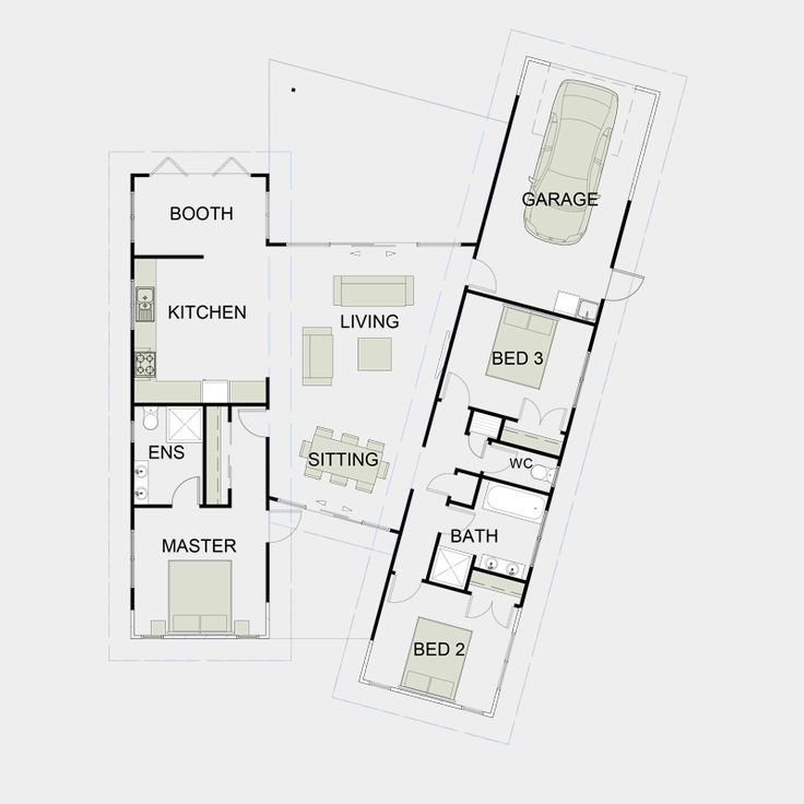 Simple functional house plans house design plans for Minimalist house plans nz