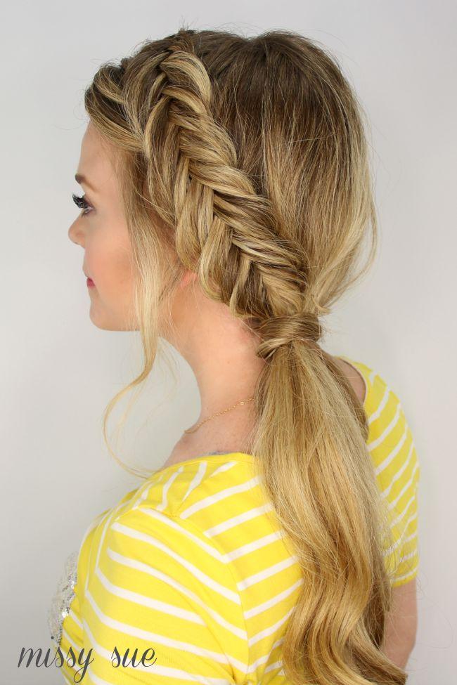 Pleasant 1000 Ideas About Dutch Fishtail Braid On Pinterest Fishtail Hairstyles For Men Maxibearus