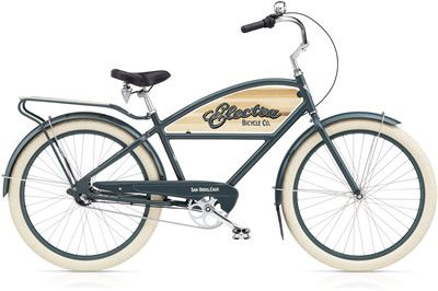 Electra Courier 3i gents grey