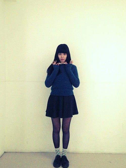 小谷実由│シャツ・ブラウスコーディネート-WEAR