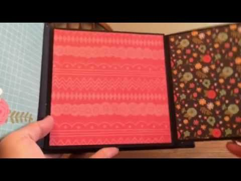 Mini Album using a tutorial series from My Sisters Scrapper -https://www.youtube.com/watch?v=P3hRZkxb92A&list=PLKsEjyb8WQvnIHZgG5ZXK5YtwNFmyfEGs The paper pa...