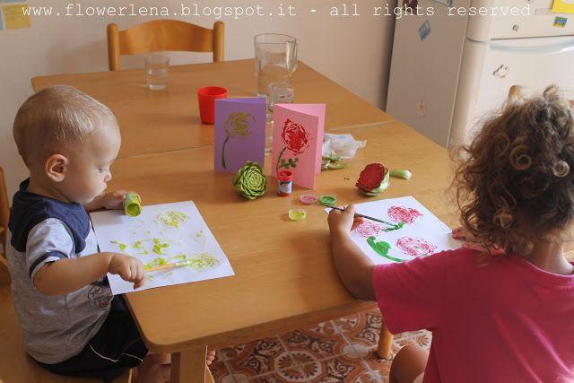 Alta Priorità: Dipingiamo con le verdure