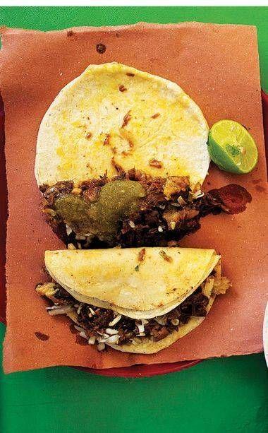 Grilled Steak Tacos (Tacos de Carne Asada)