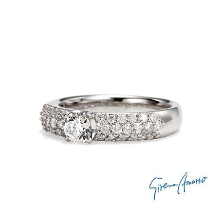 Sirena Azzurro (セイレーン アズーロ):新しい人生のスタートにふさわしい最高の輝きをBRAVURA<ブラヴーラ>パヴェの結婚指輪・マリッジリングの一覧❤