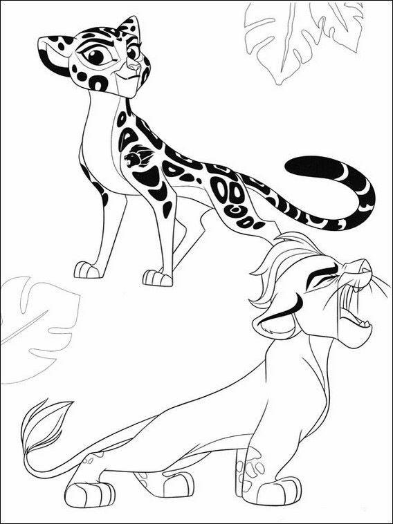 Desenhos Para Colorir Para Criancas Para Imprimir A Guarda Do Leao