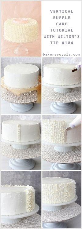 Ruffled Cake Tutorial!