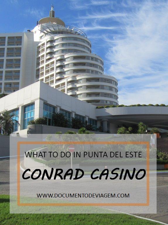 Conrad is a hotel and casino located on the edge of Mansa Beach, in Punta del Este, Uruguay, in front of Gorriti Island.