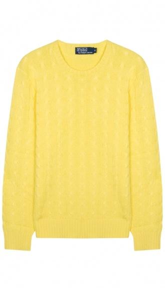 Polo by Ralph Lauren knitwear #ralphlauren #yellow #mensfashion #knitwear