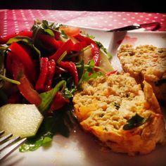 Saudável como um pêro... sem desespero!: Rolo de carne com cogumelos (sem glúten)