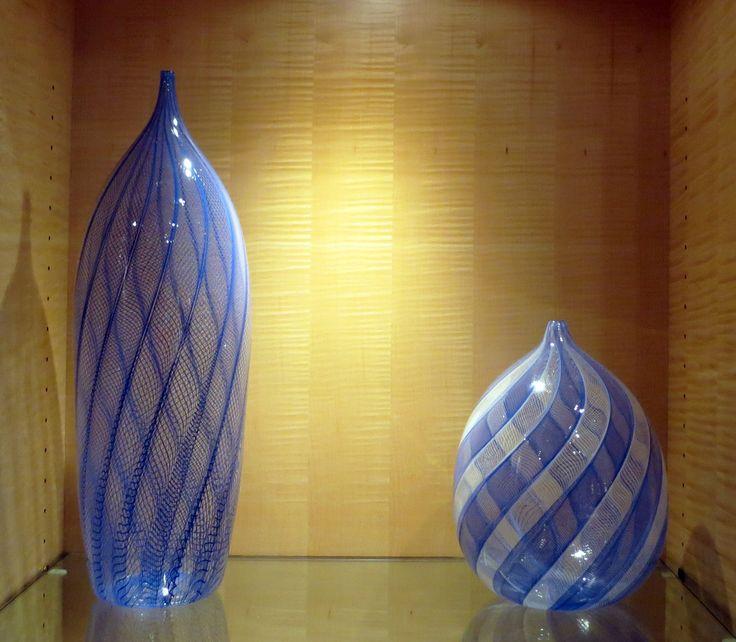 Zanfirico vessels by Andrew Iannazzi Glass Design | $400 each