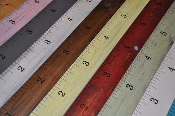 Over 1200 Sold! Great gifts  Life-size shabby chic handmade growth chart rulers for measuring kids' height!