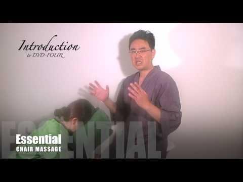 Essential Chair Massage Pt. 7: Technique #22 and DVD-4 Introduction -    FFI: www.japanesemassage.com This is a clip from out brand new ESSENTIAL CHAIR MASSAGE 6-DVD Set. A Japanese massage master, Dr. Shogo Mochizuki explain an  - http://massage.mynewsportal.net/2013/03/essential-chair-massage-pt-7-technique-22-and-dvd-4-introduction/