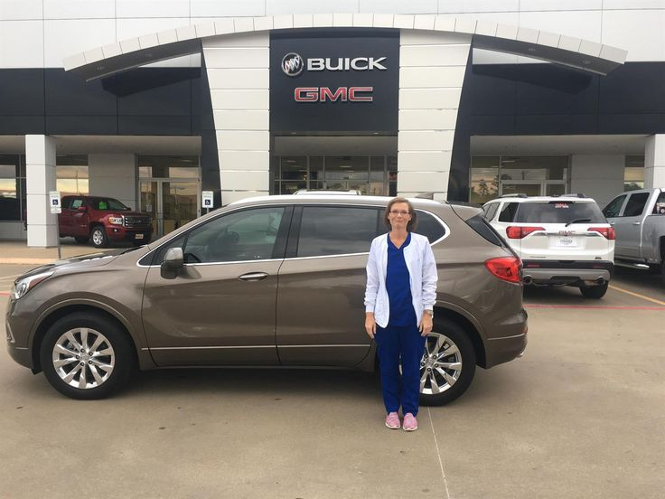 DARRYL and LESA's new 2017 BUICK ENVISION! Congratulations and best wishes from Hall Buick GMC and Taylor Wills.