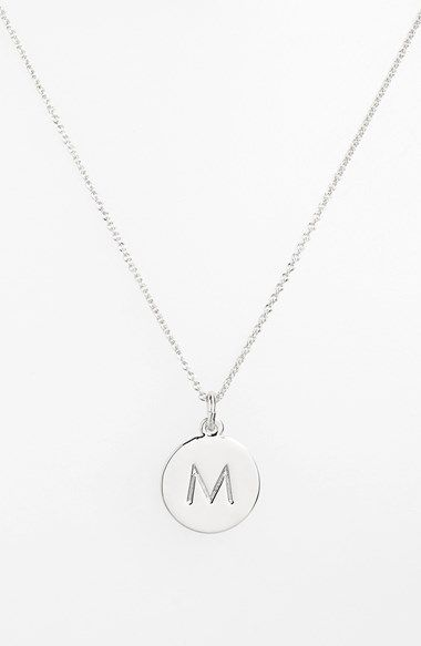Free shipping and returns on kate spade new york 'one in a million' initial pendant necklace at Nordstrom.com. Delicate, sweet and stamped with the initial of your choosing, this pendant necklace is plated in precious metal.