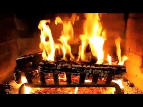 1 hora de villancicos navideños en español HQ ☃ con leña al fuego ☃❄