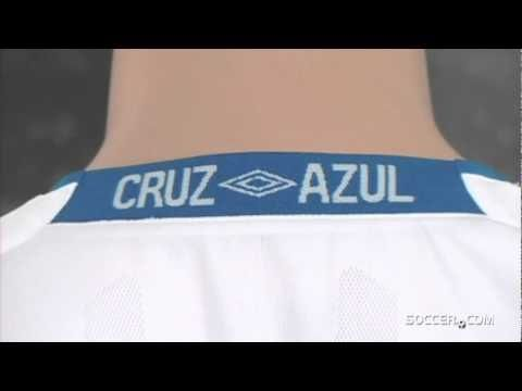 #0910 #away #awayjersey #Azul #Cruz #CruzAzul #Eurosport #Jersey #mexicanclubfootball #shortsleeveshit #soccer #soccer.com #soccerdotcom #umbro #whiteandblue Umbro Cruz Azul Away Jersey 09/10