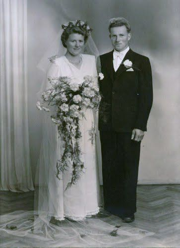 Gudveig and Endre my grand parents 1947.