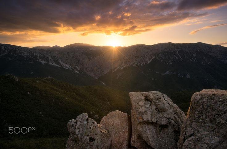 Gorroppu at sunset - Gorroppu at sunset