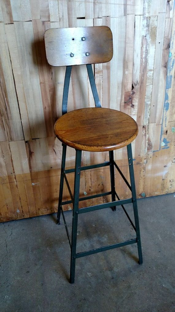 New Shop Stool with Back