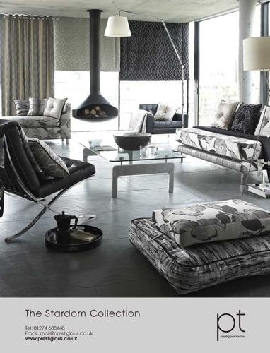 Stardom - Contemporary jaquard collection from Prestigious Textiles Ltd