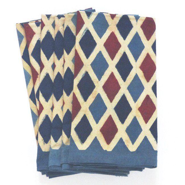 Harlequin napkins