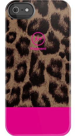 Fragment Leopard Pink case by Hiroshi Fujiwara